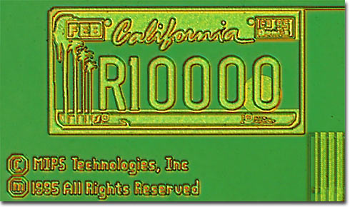 R10000 California License Plate