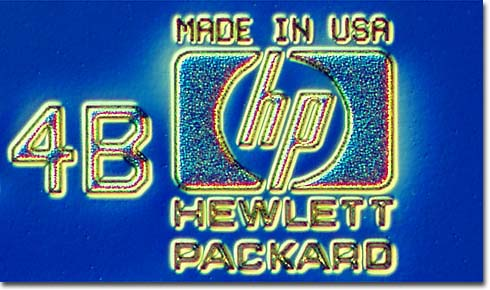 The Hewlett-Packard Logo