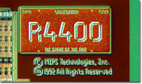 R4400 California License Plate