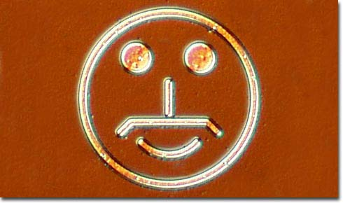 Texas Instruments' Happy Face