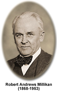 robert andrew millikan Robert andrews millikan was born in morrison, illinois, in 1868 during his undergraduate course at oberlin college, his favorite subjects were.