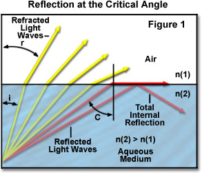 physics ia critical angle of glass The critical angle is the θi that gives a θr value of 90-degrees if this information is substituted into snell's law equation, a generic equation for predicting the the critical angle can be calculated by taking the inverse-sine of the ratio of the indices of refraction the ratio of nr/ni is a value less than 10.