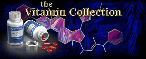 Molecular Expressions: The Vitamin Collection